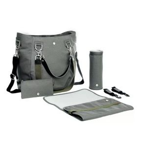 LASSIG Mix n Match Nappy/Diaper Bag, Anthracite